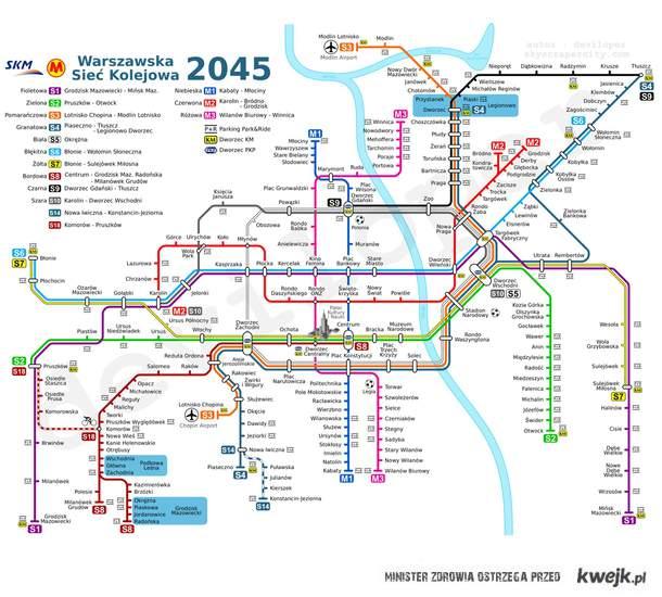 Metro Wawa - 2045
