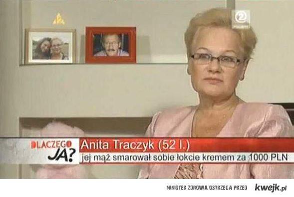 Jej mąż smarował sobie łokcie kremem za 1000 zł