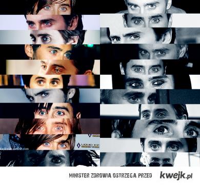 leto's eyes