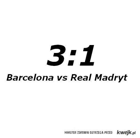 Barcelona Vs Real Madryt