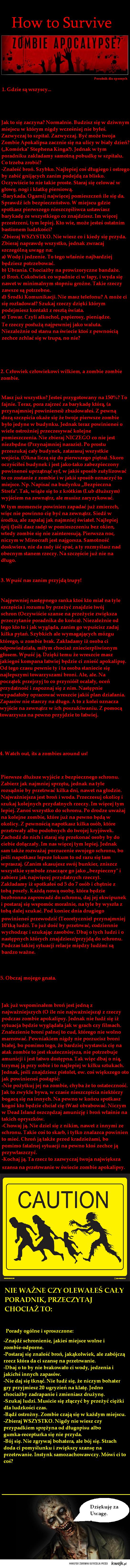 Zombie Apocalypse!!!