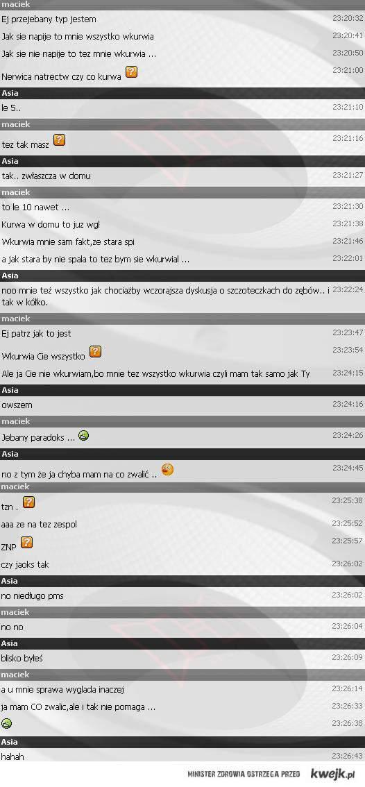 Moja rozmowa na GG xD
