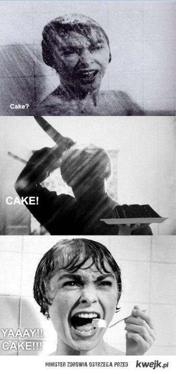 CAKE? CAKE! YAY!