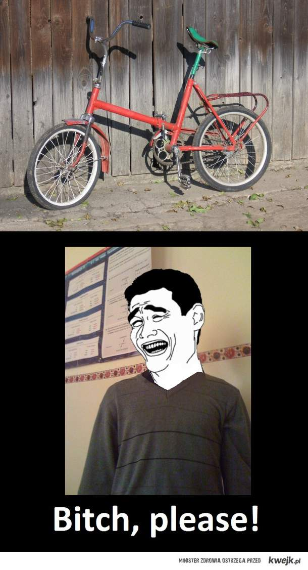 co za rower!