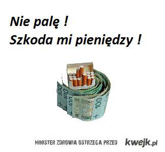 Nie palę !