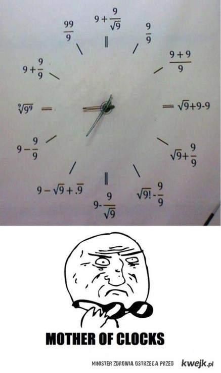 Mother of clocks...
