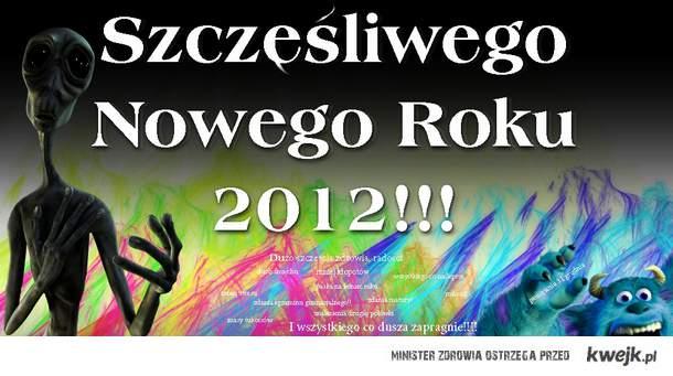 Szczesliwego nowego 2012 rokuu