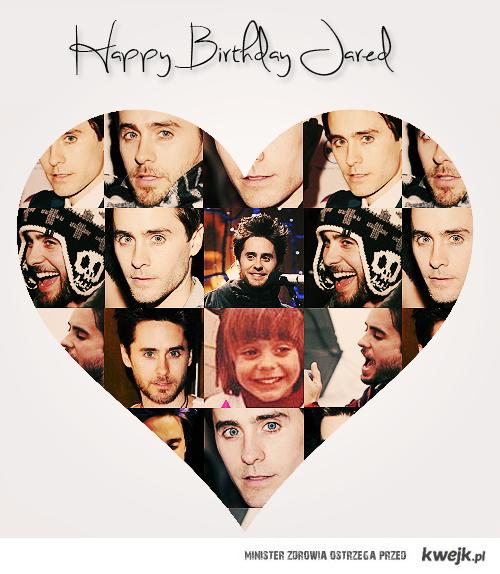 happy bday Jared <3