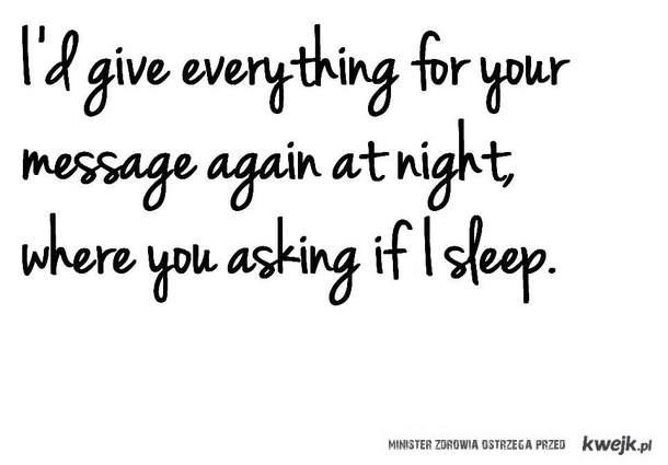 asking.