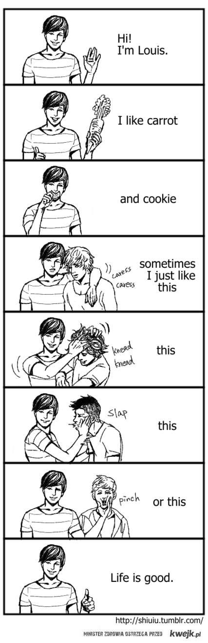 Hi I'm Louis!
