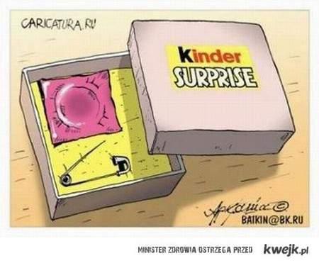 kinder niespodzianka