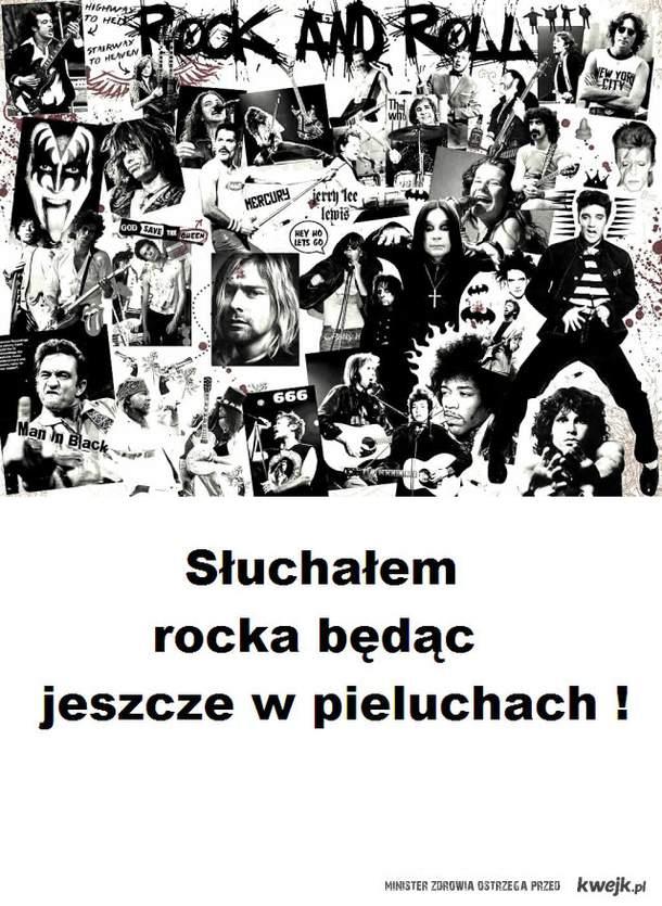 Słuchałem rocka będąc jeszcze w pieluchach!
