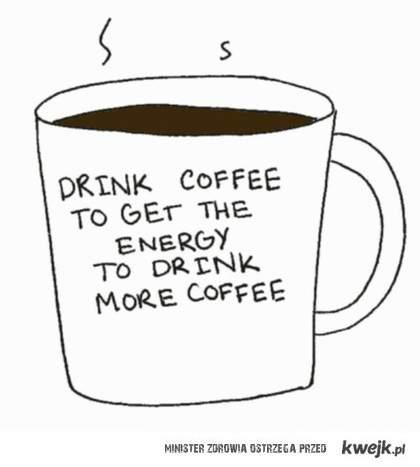 po co pić kawę