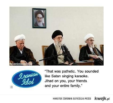 irański Idol