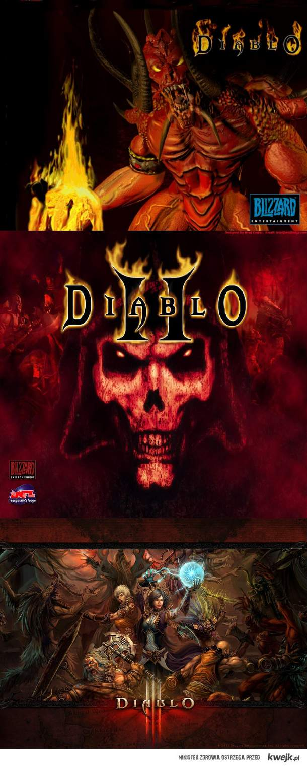 Diablo I - III