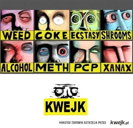 Kwejk like drugs
