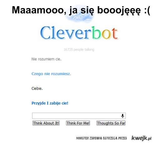 Cleverbot jest zły