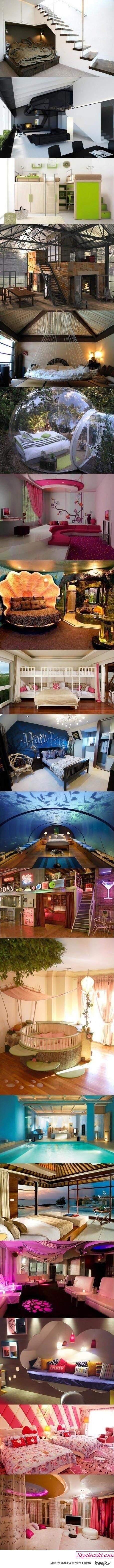 bedrooms ;)