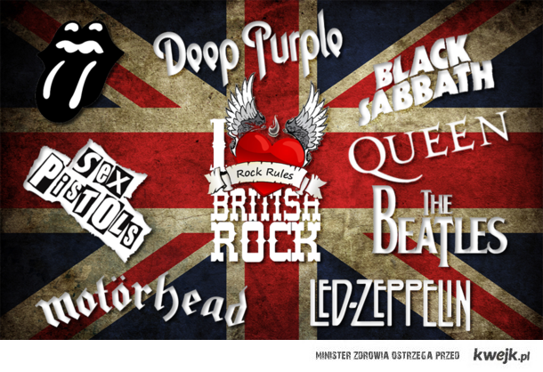 i love british rock