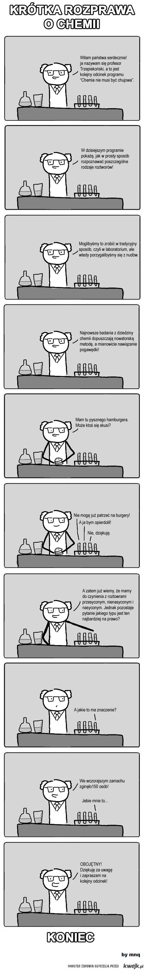 Krotka rozprawa o chemii
