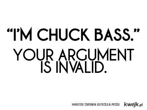 I'm Chuck Bass
