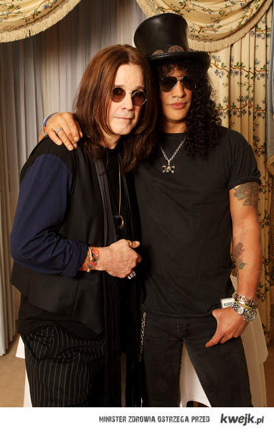 Slash And Ozzy