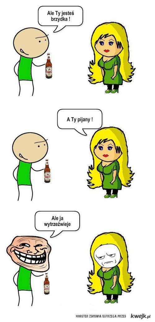 Pijany i brzydka