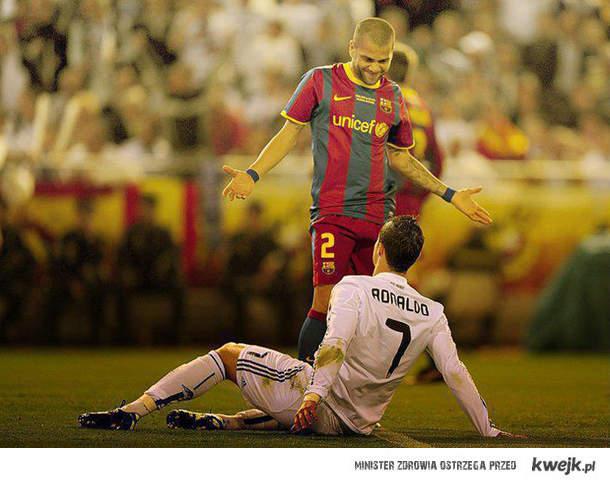 Wyższość Barcelony nad Realem .
