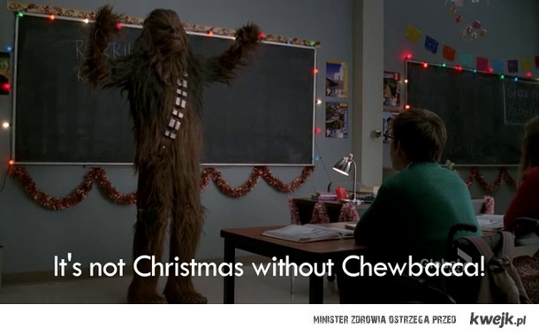 Christmas with Chewbacca