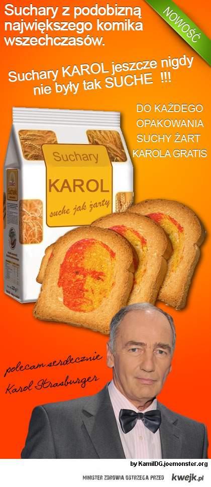 Suchary Karola