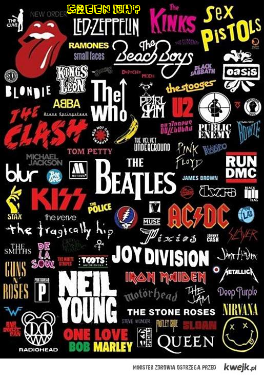 The Best Bands in The World!