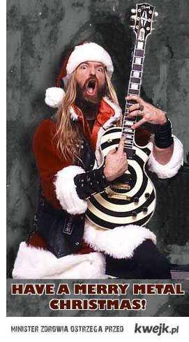 Merry Metal Christmas!