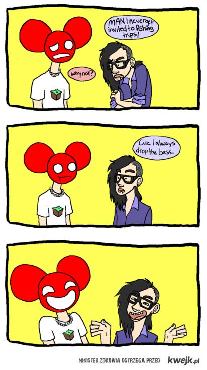 deadmau5 i Skrillex :D