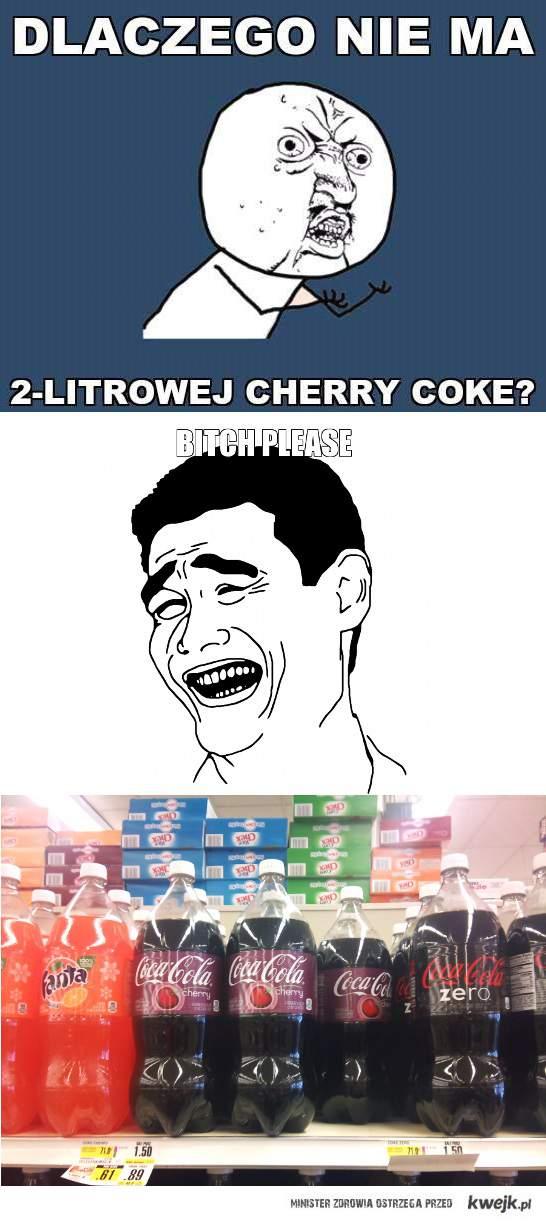 2l cherry coke istnieje