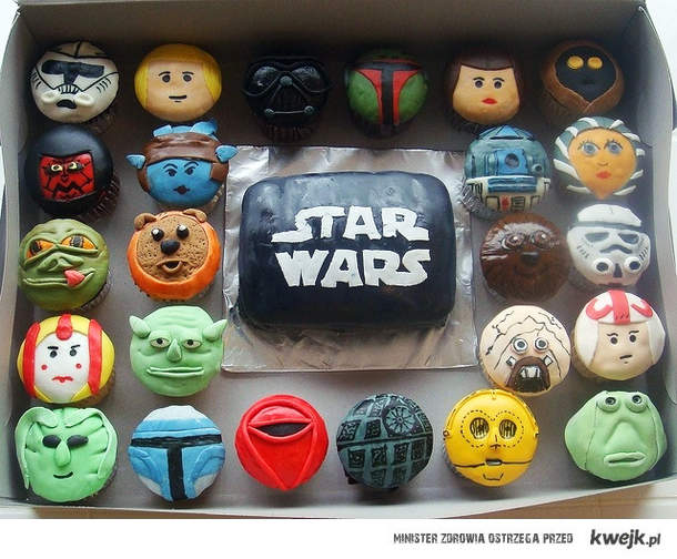 SW cupcakes