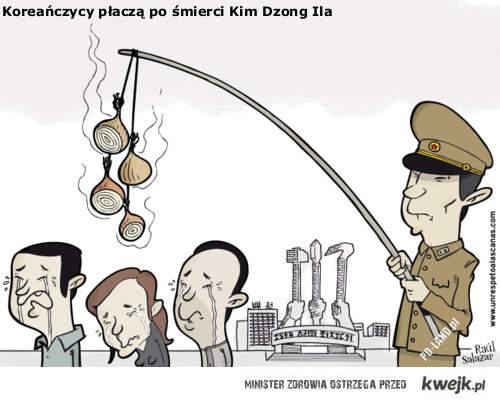 Korea placze po smierci Kim Dzong Ila
