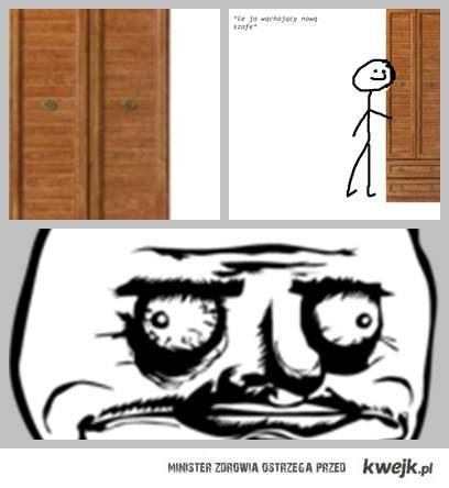 Kocham wąchać nowe szafy :P