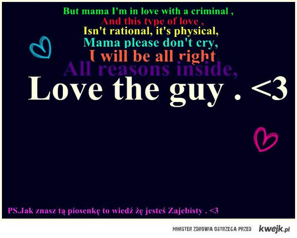 Criminal . ♥