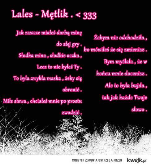 Lales  .  < 333