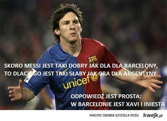 Cały Messi