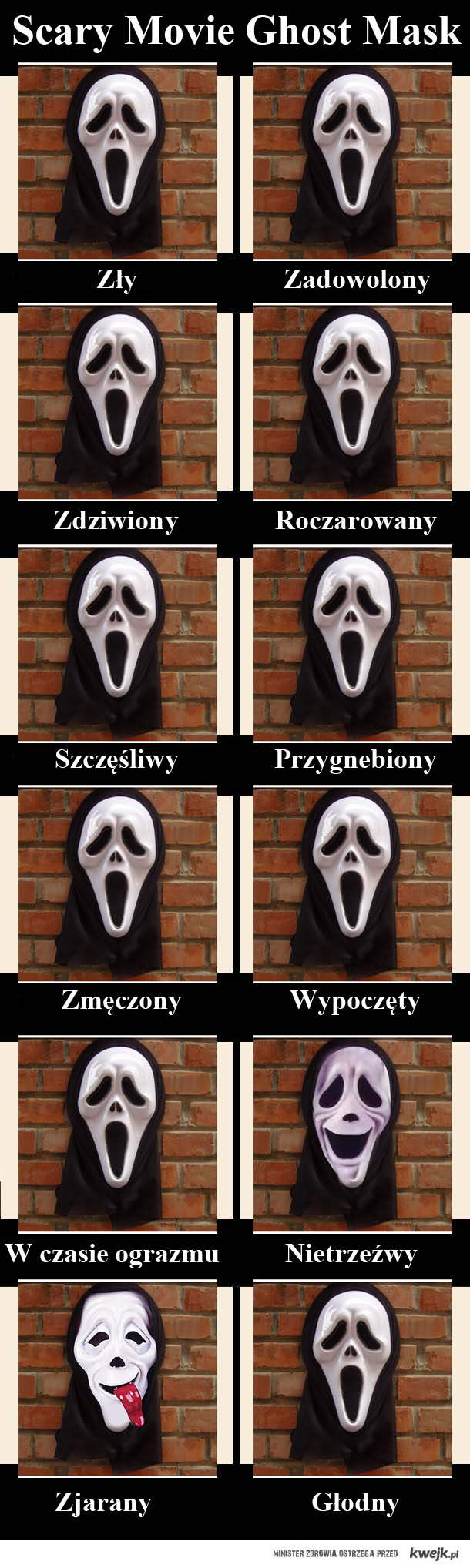 Scary Movie Ghost MAsk