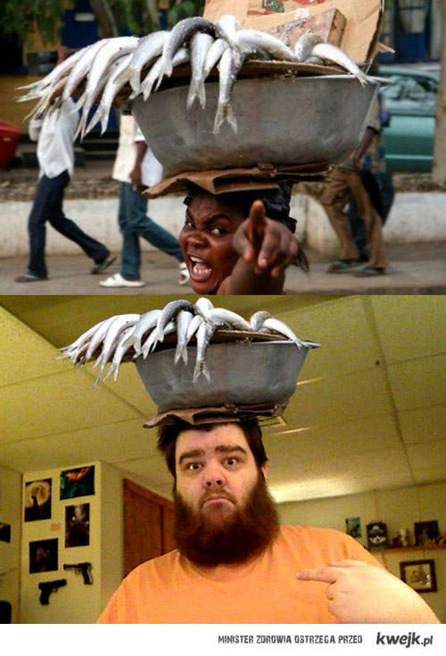 ryby na głowie
