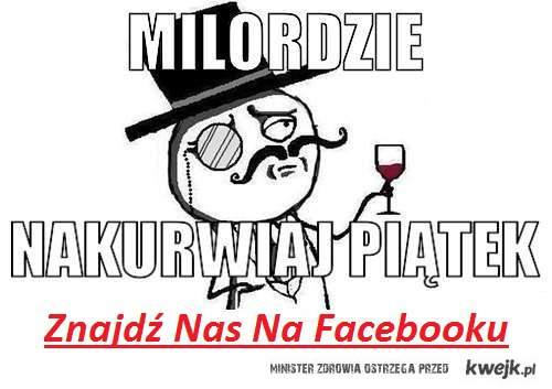 Znajdź Nas Na Facebooku :)