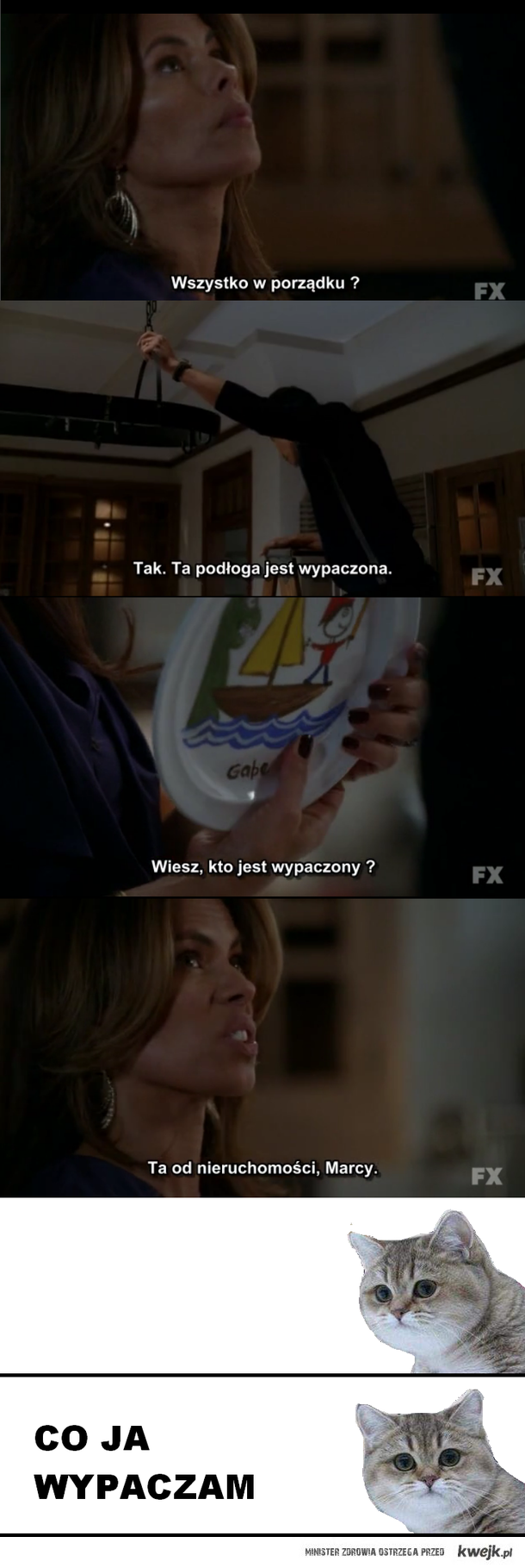 American Horror Story, dialog.