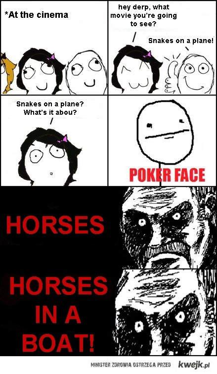Konie na statku
