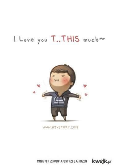Kocham Cię tak bardzo!