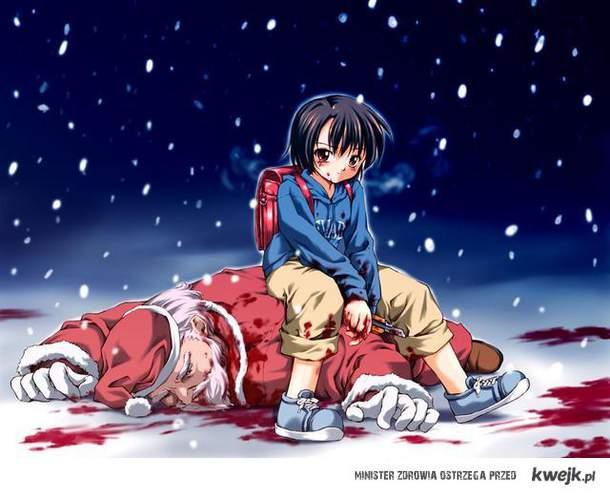 Santa dead.