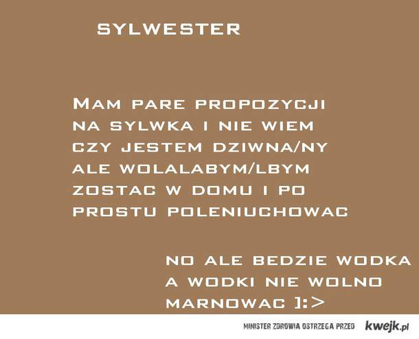 Sylwester ]:>