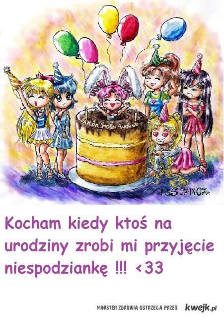 urodzinowe niespodzianki