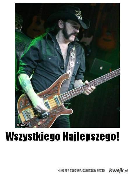 Wszystkiego najlepszego, Lemmy.